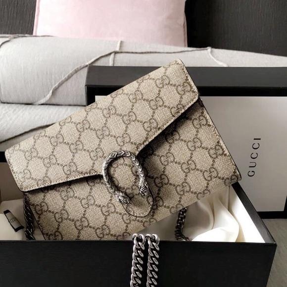 bb699677bd2f Gucci Bags | Dionysus Gg Supreme Chain Wallet | Poshmark